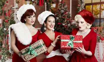 Christmas with THE PUPPINI SISTERS!! 16.12.2106 @ Heimathafen Berlin